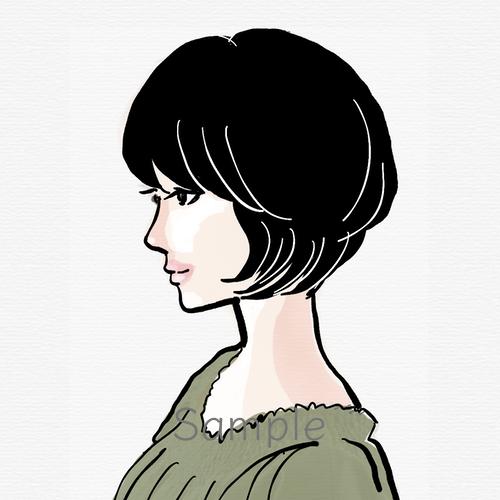 クールで可愛いイラスト描きます ラフでシンプルなペン画が中心。プロフィール画像やバナーに♪