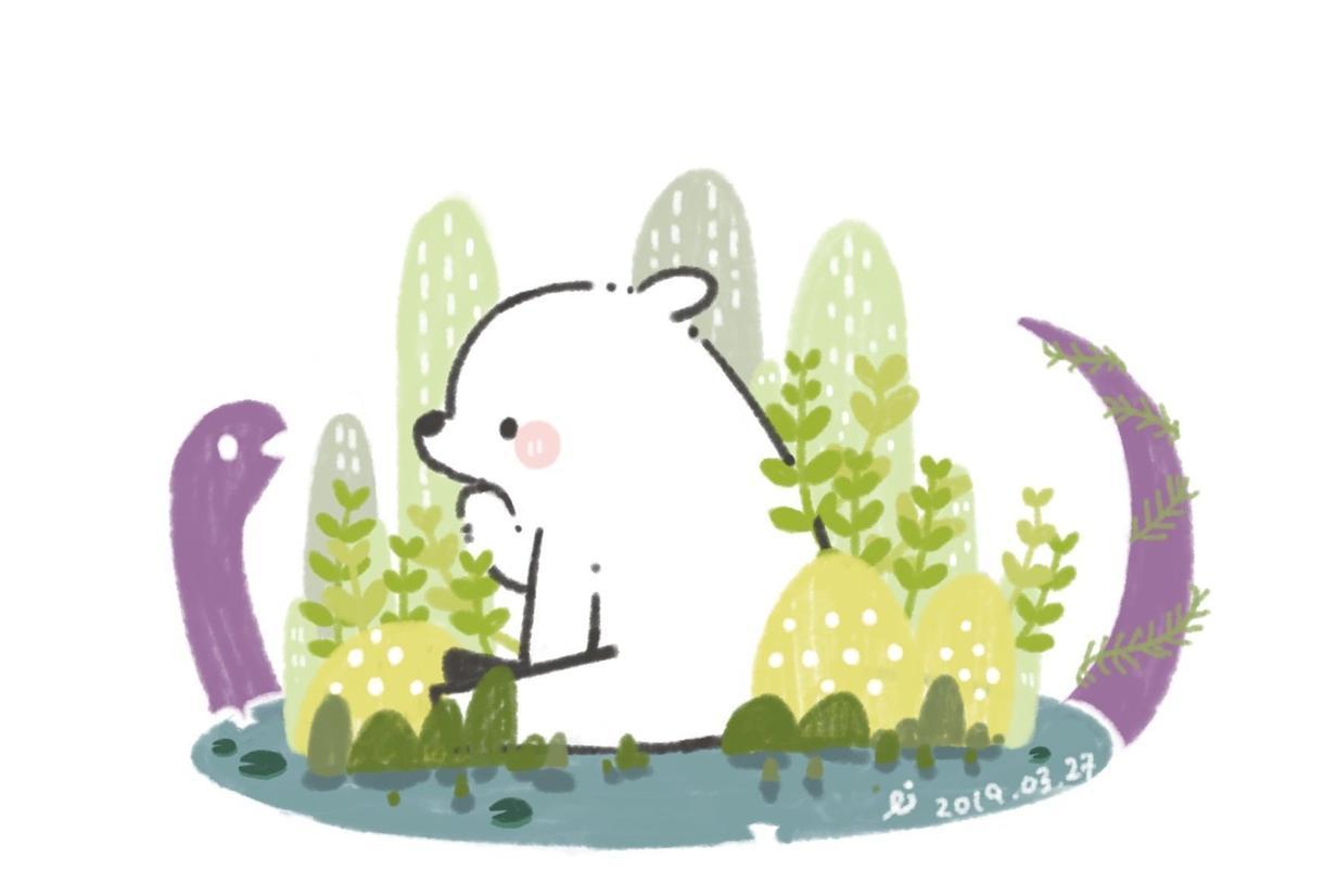 絵本の様な動物のアイコン描きます snsやオリジナルのアイコンを描きます!