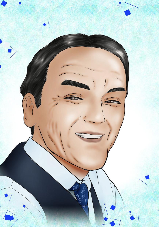 似顔絵描きます お祝い、退職、卒業などのプレゼントにおススメ