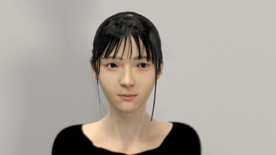 高品質リアルCGでキャラクター画像作ります イラスト・写真等からご希望のリアル人物画像を作成します