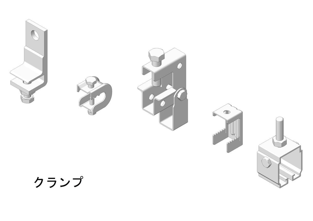 建築金物類3Dモデリング作成致します 使用金物類は探さず作成する事をお薦めします。