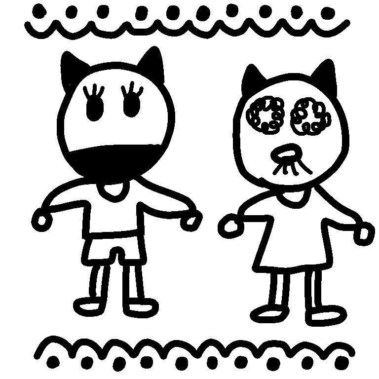 キャラクターを作ります 手書き風のゆるキャラが得意です