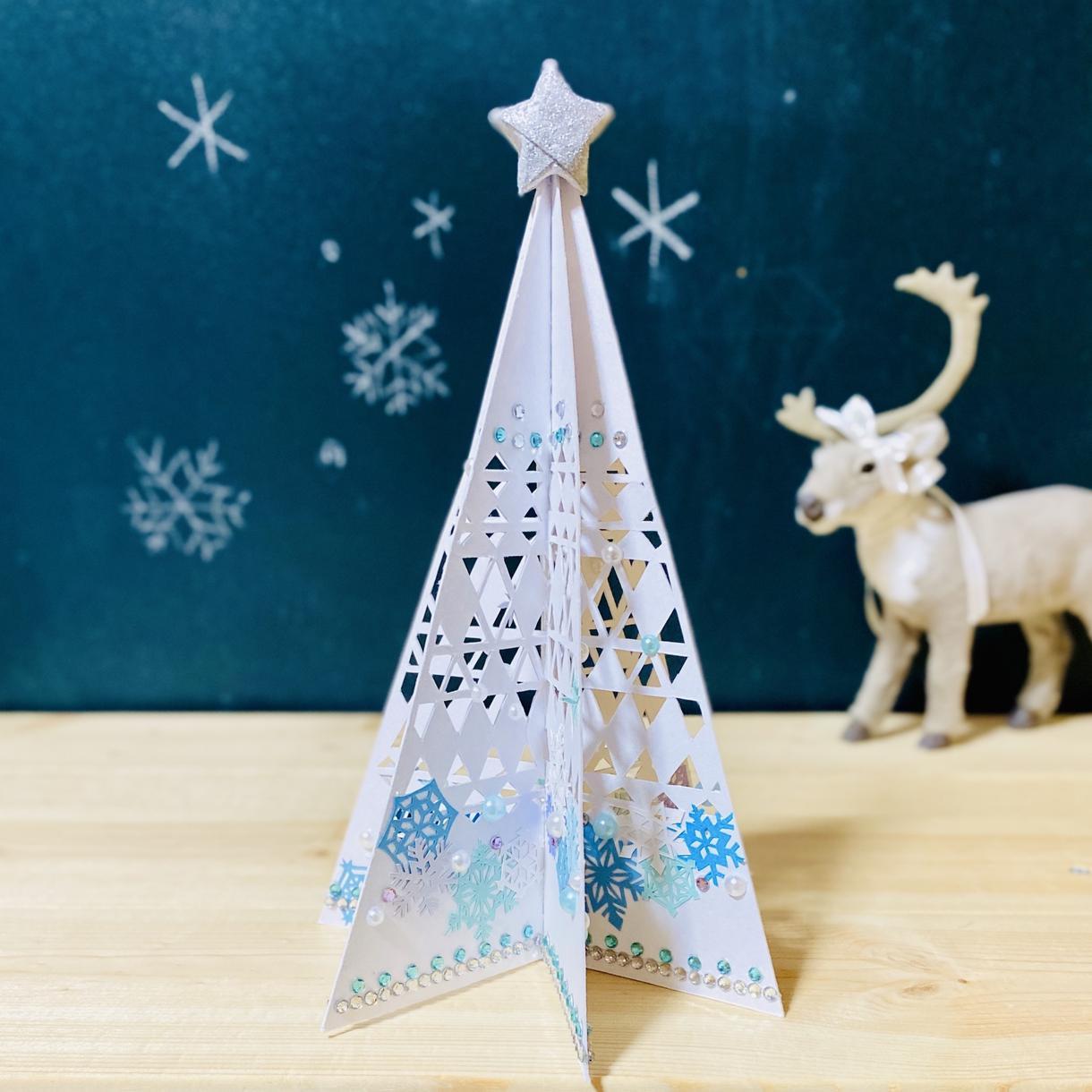 クリスマスツリー制作します お家クリスマスを彩る小さな卓上クリスマスツリー イメージ1