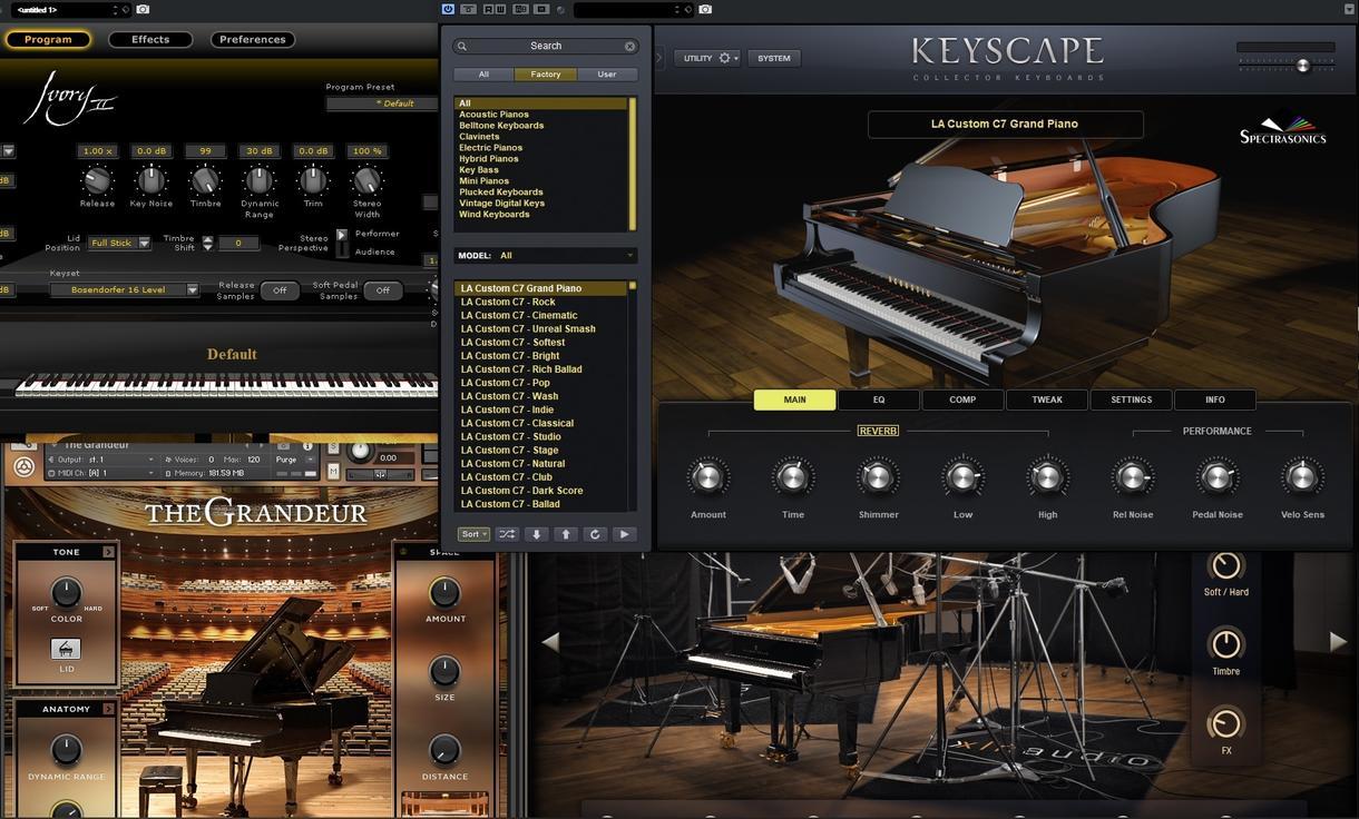 ピアノ演奏データを納品致します 楽曲制作、伴奏、コンペ、オリジナルカラオケ等制作致します イメージ1