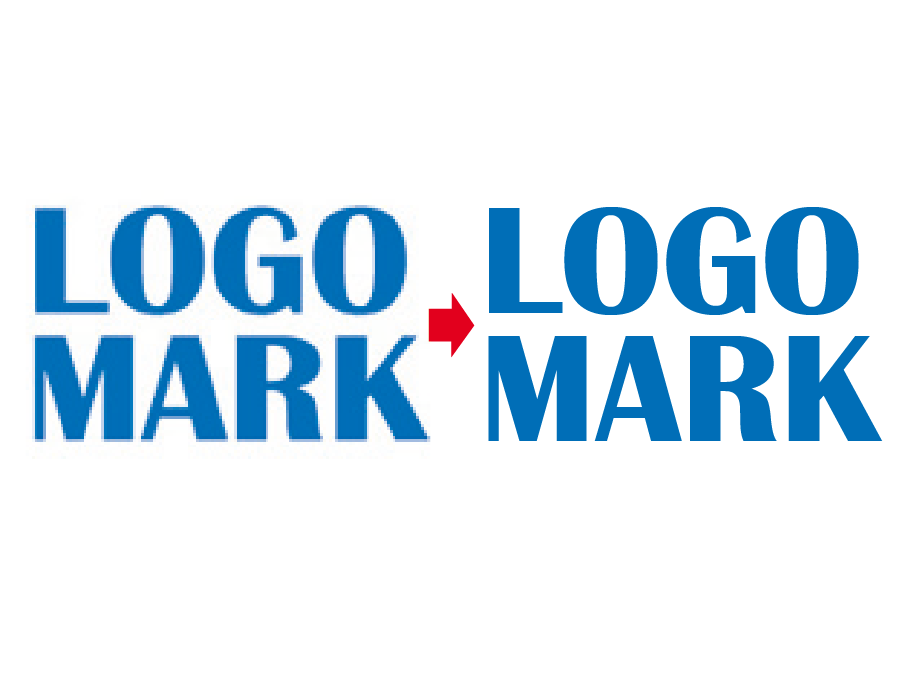 ロゴマークをトレースしデータ化致します ロゴマーク・イラストのトレースお任せ下さい!