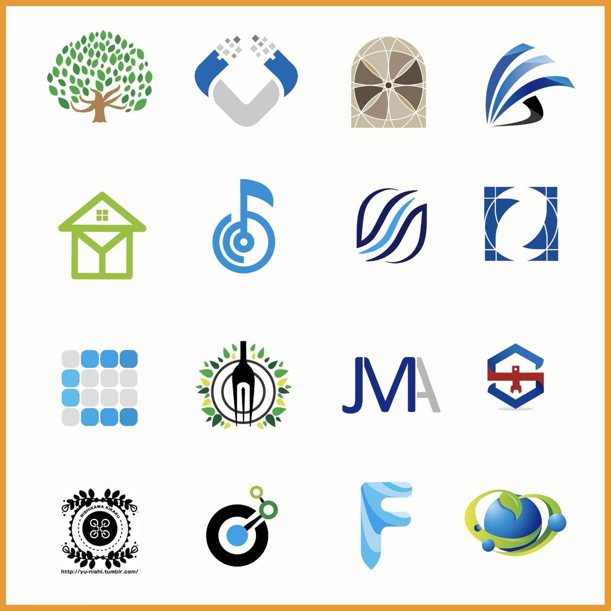 【レビュー率80%以上!!】プロが作るシンプルな高品質ロゴを◆5000円◆から提案致します!