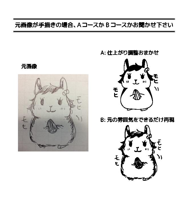 Illustratorでロゴや絵をトレースします 手書きのイラストやロゴなどをAi形式でトレースします。