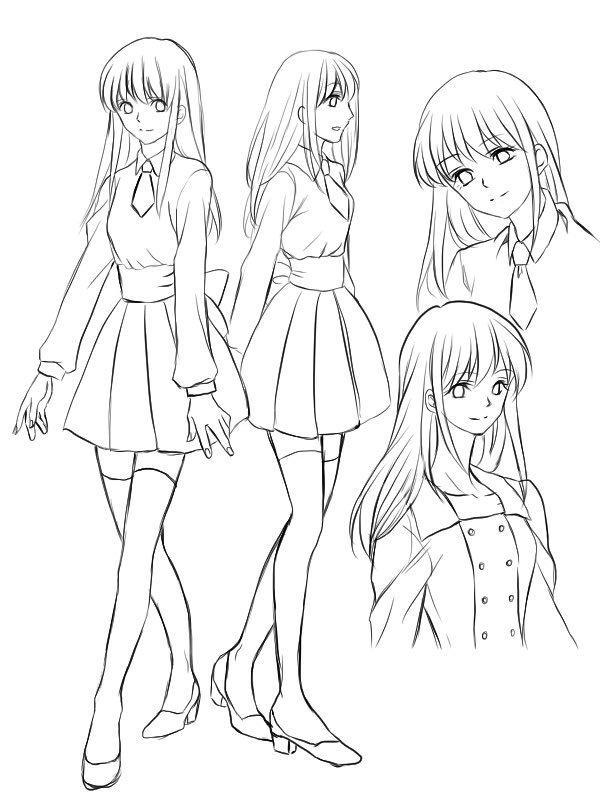 キャラクターデザイン、キャラシート作成します キャラクターのイメージをイラストにしてほしいという方へ