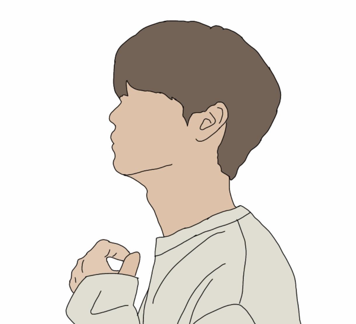 今流行ってる韓国風イラスト描きます オシャレなイラスト、韓国好きならこのイラスト! イメージ1