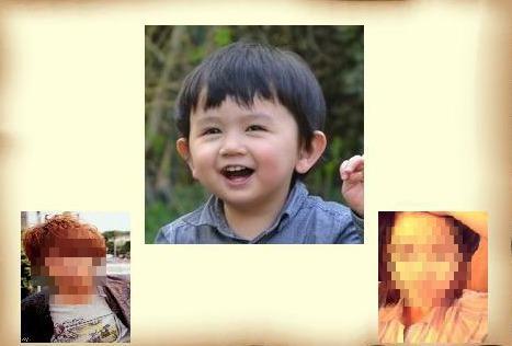 カップルの写真を使って二人の未来の子供の顔を作ります。