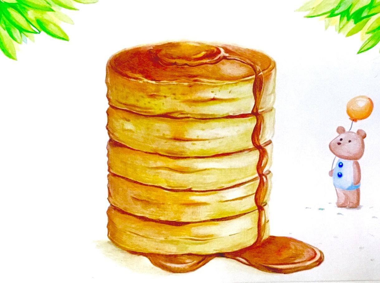食べ物のイラスト描きます メニューやポストカードに挿絵を入れたい方へ