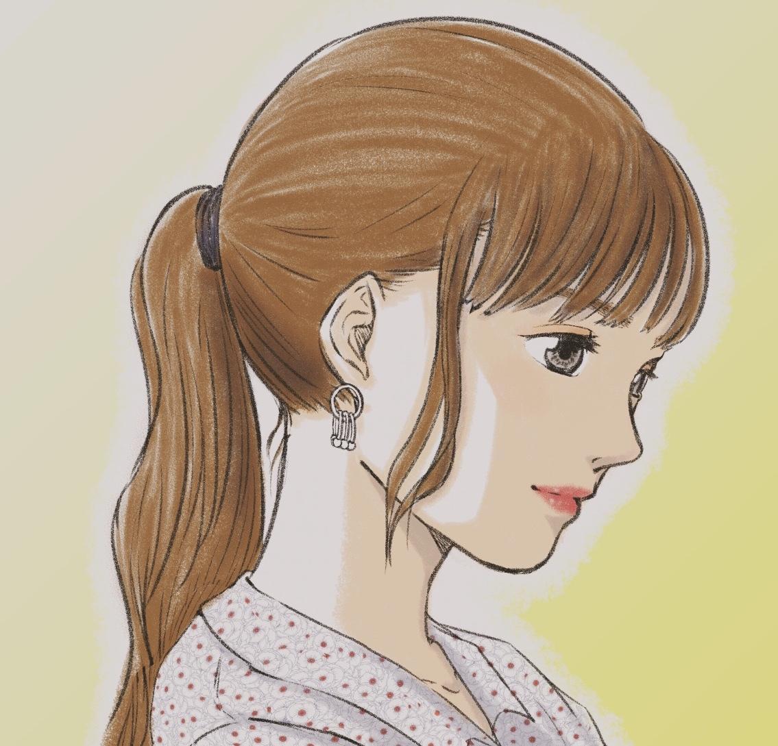 SNSのアイコン用似顔絵を描きます 貴方らしく、美しく、シンプルで魅力的な貴方だけのアイコンを。 イメージ1