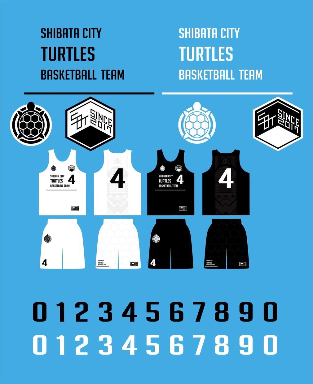 バスケ用ユニフォーム、Tシャツデザインます チームでカッコイイモノを作りたい人にオススメ!