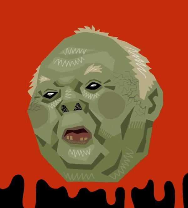 アナタのゾンビ似顔絵描きます 似顔絵Z化計画 SNSアイコンをゾンビ似顔絵に!インパクト強