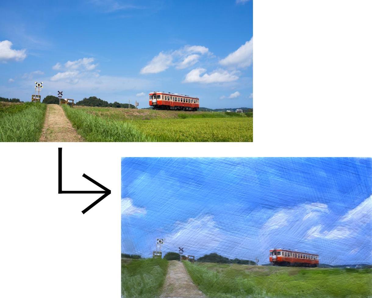 写真をCG加工します サンプルのとおり写真をCG加工します!