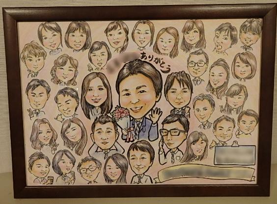 A3サイズに~12名様までの似顔絵描きます 大切な方へ寄せ描き・宣伝用・卒業や入学用に・大事なペット等に