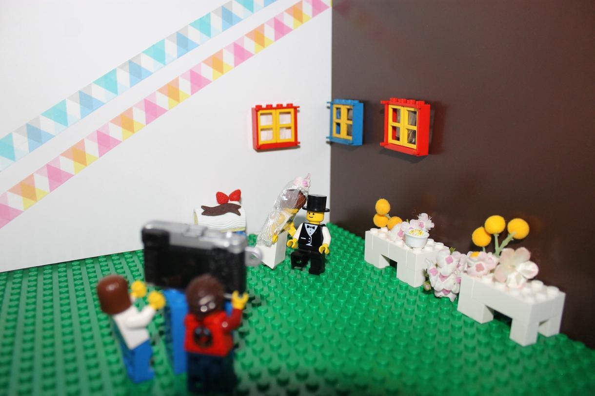 結婚式のLEGOオープニングムービーを製作します 結婚式の準備で大忙しな新郎新婦様へ!