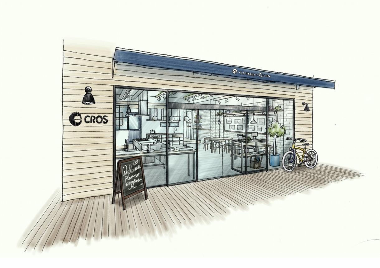 デジタル手描きマーカー調パース(店舗空間)描きます 図面、参考画像を元に魅力的な空間を描きます。