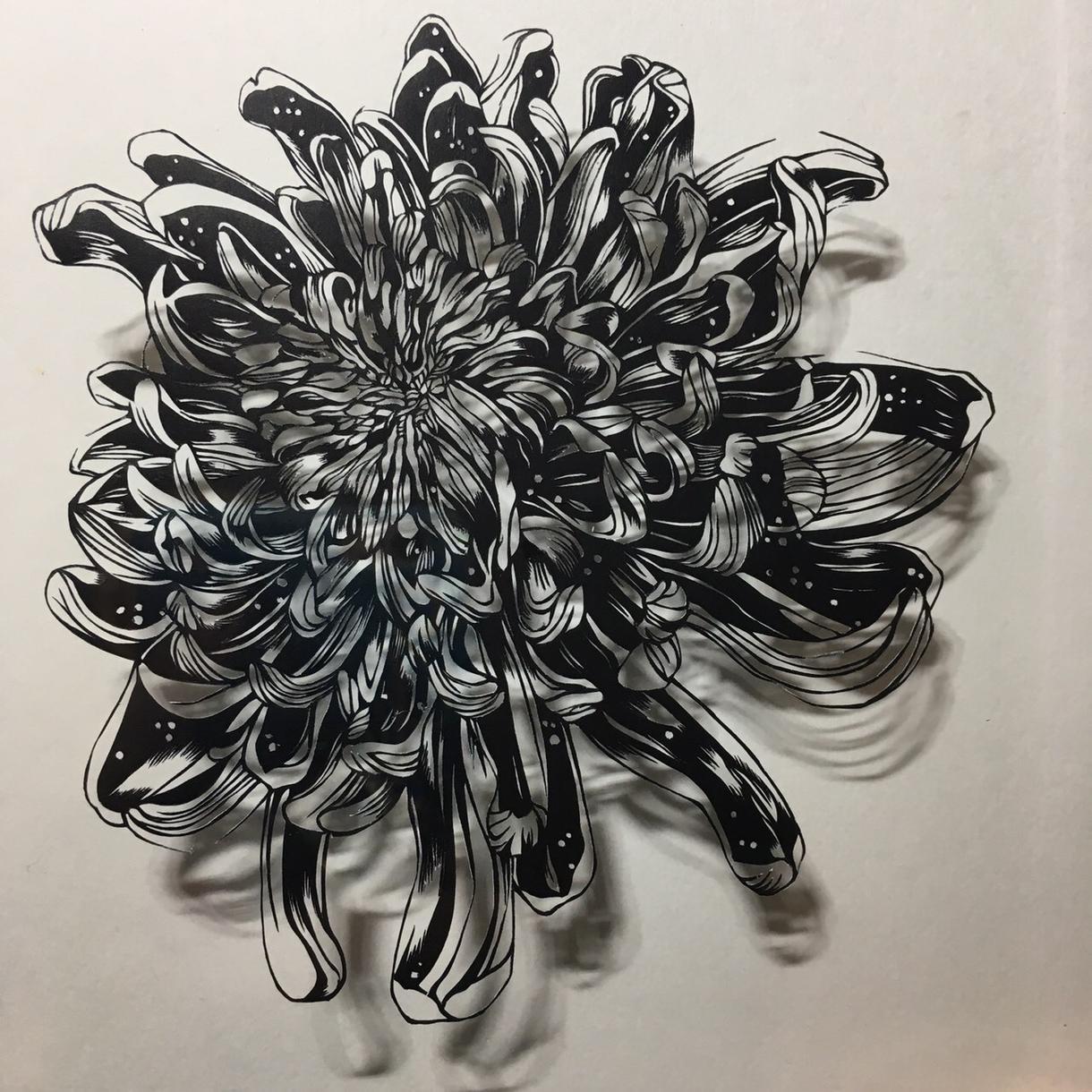 切り絵をオリジナルで制作致します 繊細なラインが魅力の切り絵は、光と影のアートです。