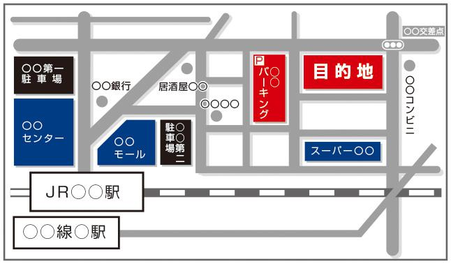 地図を制作します 手書き・Web・紙・住所のみからOK!/9月に再開予定です