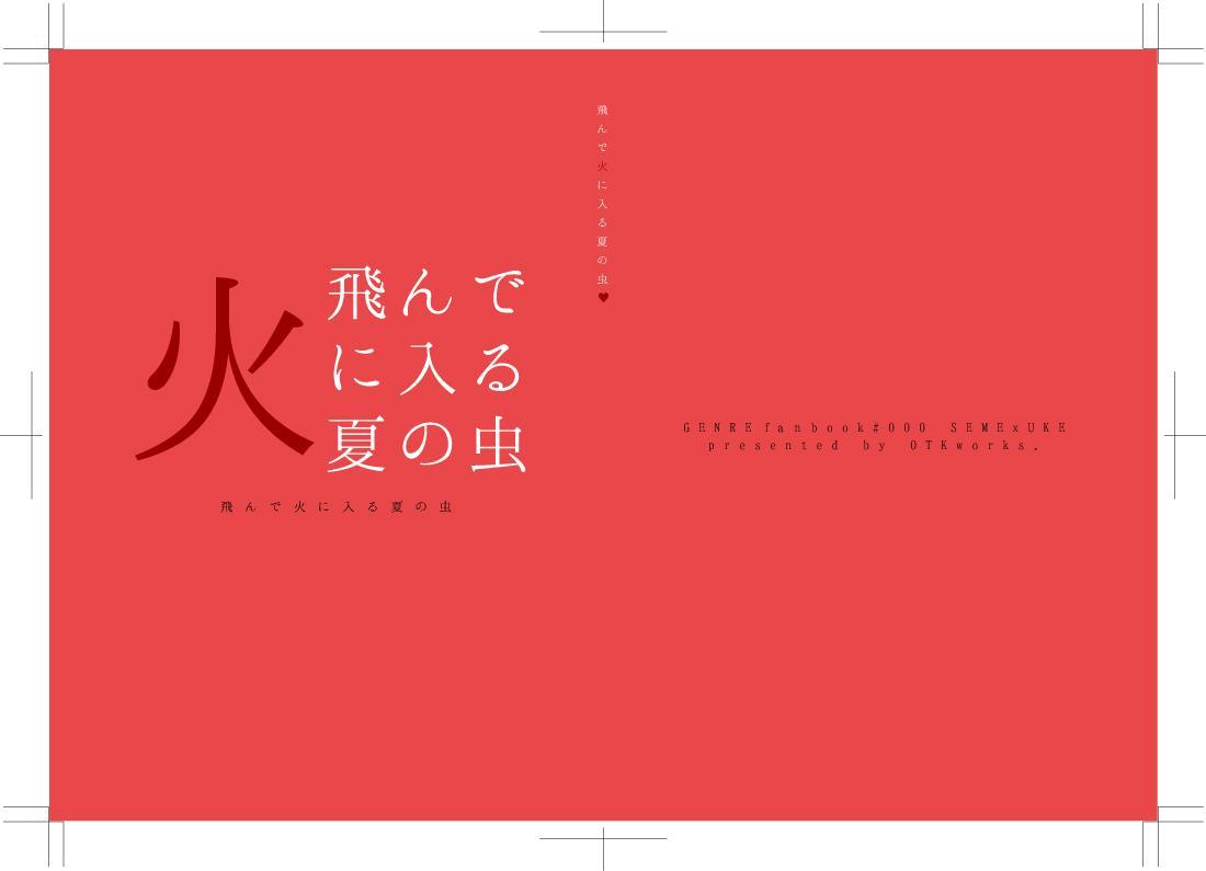 廉価版:同人誌表紙の作成お手伝いします 基本文字のみの簡素なデザイン表紙の作成