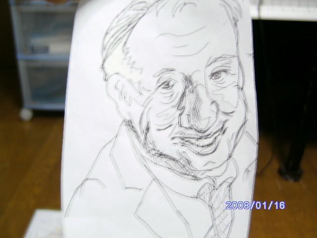 似顔絵、描きます ・・・・・・力強い絵、描きます。