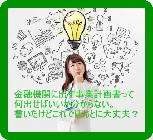 融資を通すための事業計画書作成のサポートをします あなたの創業融資、コロナ融資がうまくいきますように イメージ1