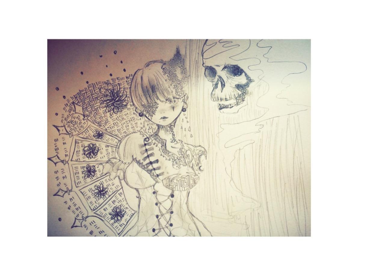 アナログで絵を描きます 白黒、水彩、色鉛筆なんでも描きます!