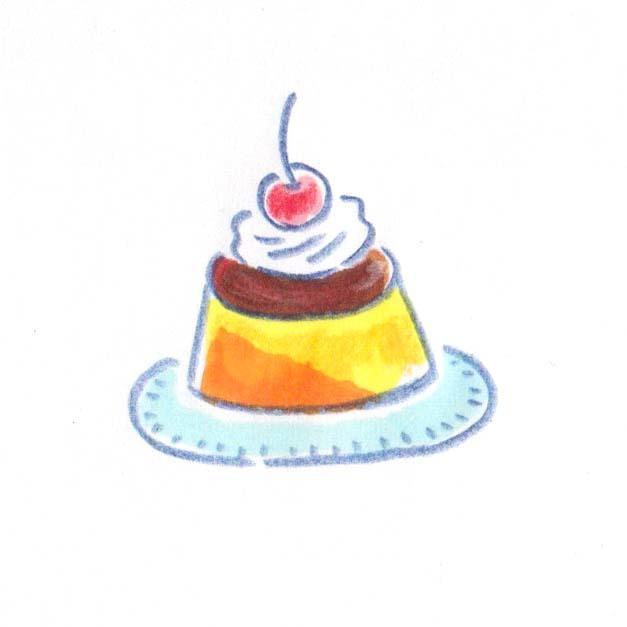 商用OK!挿絵にぴったり!ほっこりイラスト描きます やさしいタッチで美味しそうなカラーイラストを描きます! イメージ1
