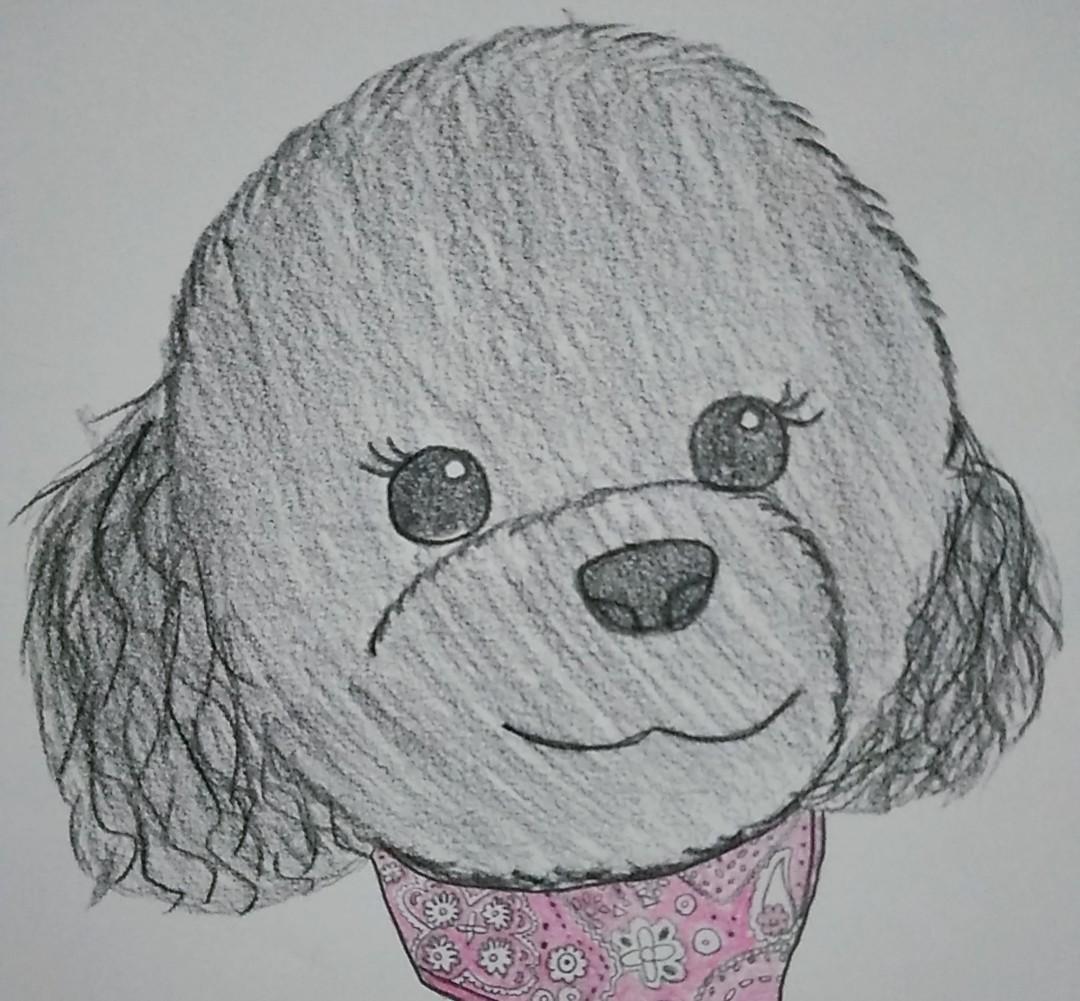 あなたの愛犬描きます 愛犬の可愛らしさを絵にしてみませんか?