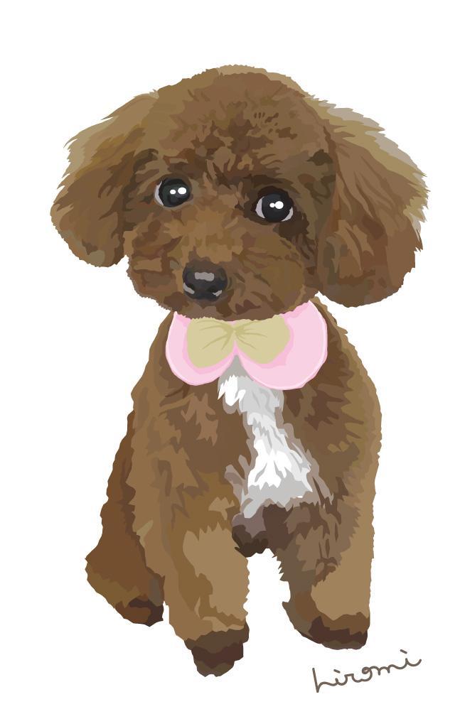 動物のイラスト 描きます 愛する我が犬・猫・ペットをイラストに出来ますよ イメージ1