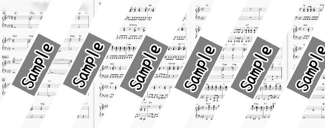 弾きたい曲のピアノ譜面作成いたします 弾きたい曲の楽譜がない!ピアノソロ用にアレンジして欲しいなど イメージ1