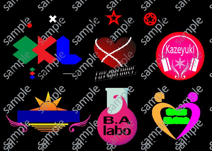 【イラスト・デザイン勉強中】簡単なロゴ作ります。