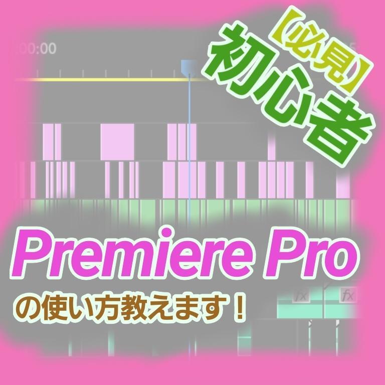 Premia Proの疑問点教えます 【AdobeのPremia Proが難しいという方へ!】