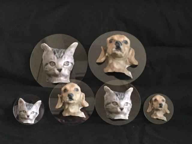 犬猫の写真で3dフィギュア的画像つくります 人物・建物・ペットを3Dにしちゃいます(笑)