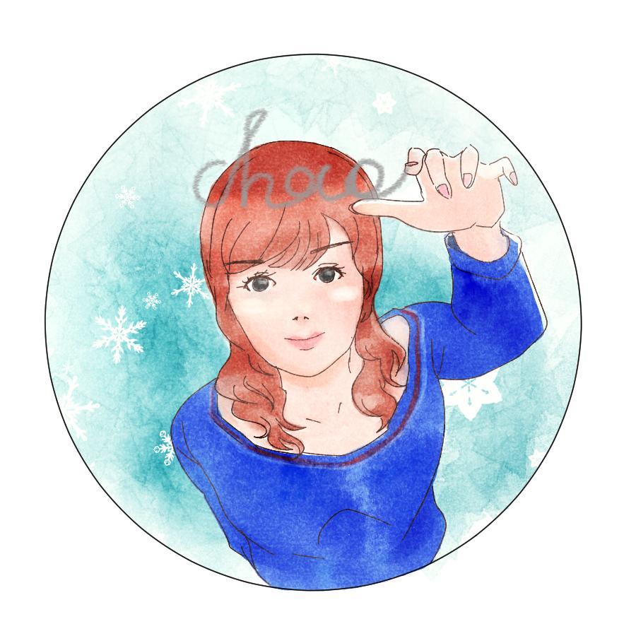 Twitterアイコンなどイラスト描きます キャラクターイラスト、自画像、名前入れ