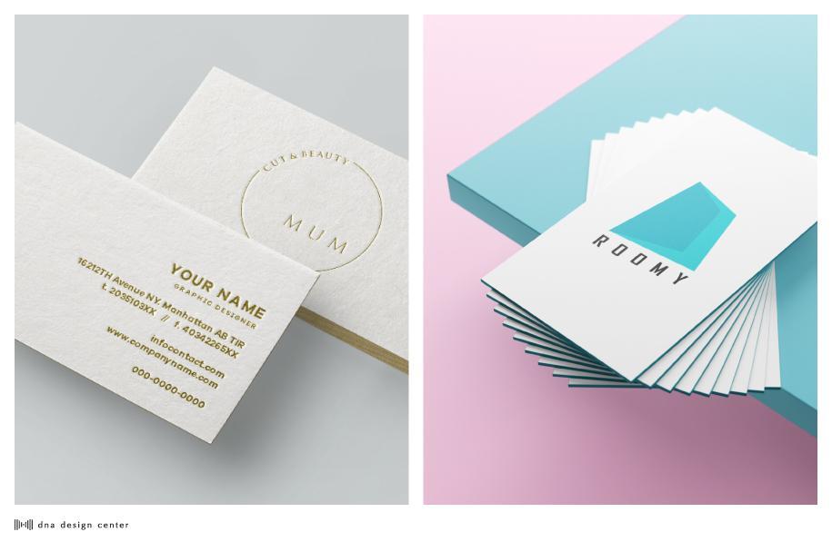 記憶に残る、高品質な名刺・カードを制作いたします シンプルで飽きのこない、洗練されたデザインをご提案します
