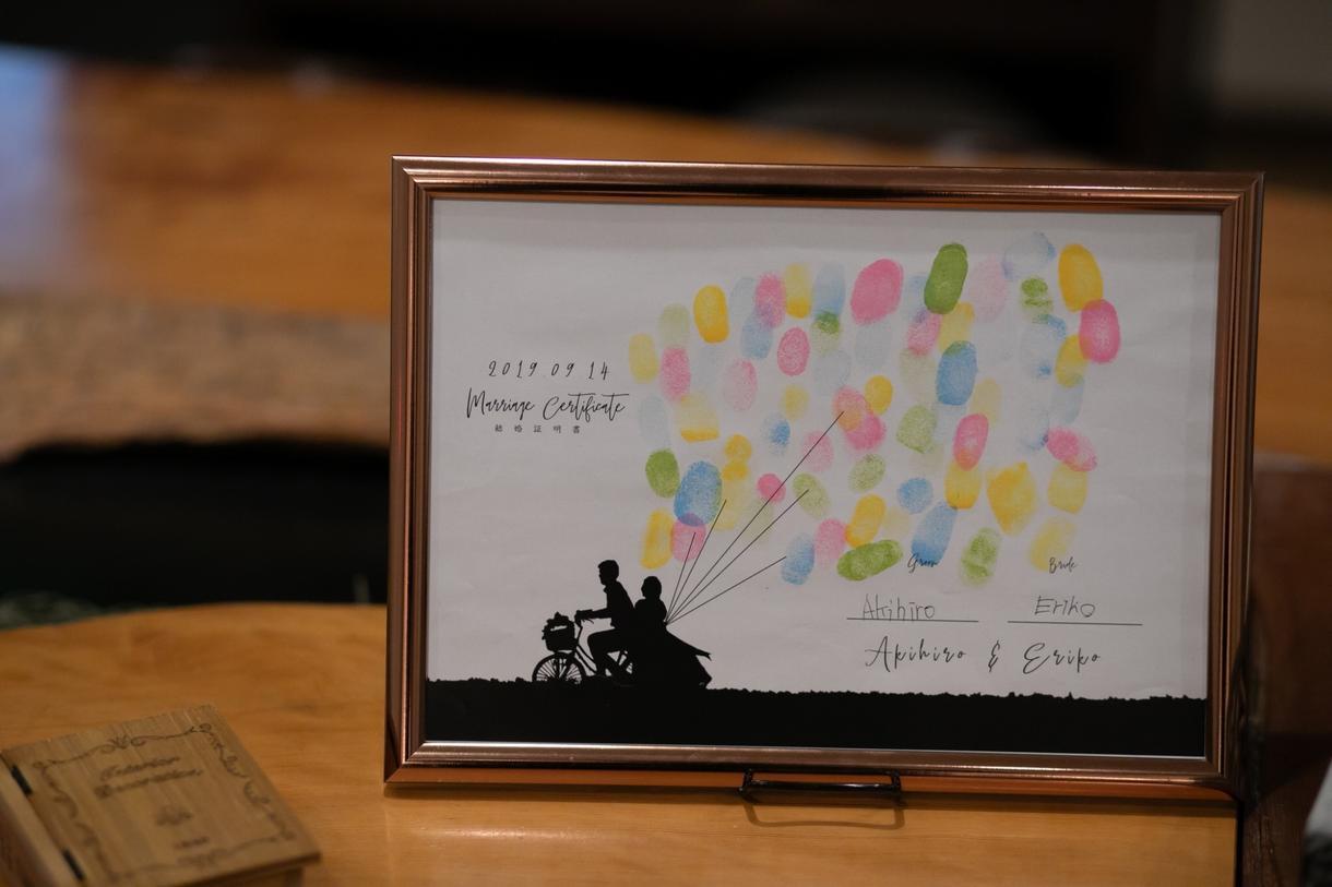 写真から結婚証明書作ります お気に入りの写真で世界に一つの結婚証明書