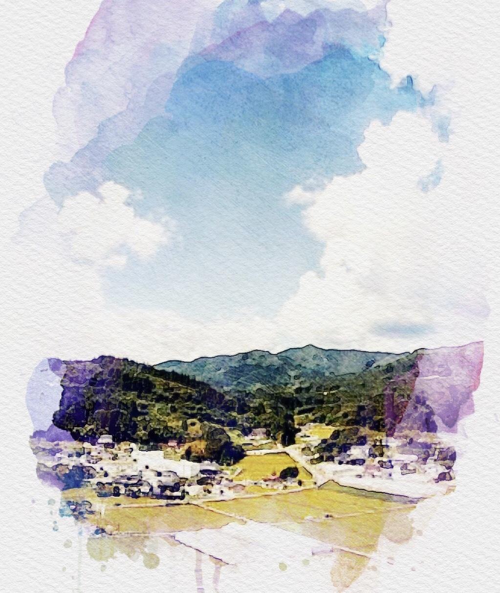 3枚まで♪】写真から水彩タッチに仕上げます お気に入りの写真をもっと魅力的に♪ペットや風景の写真もOK☆