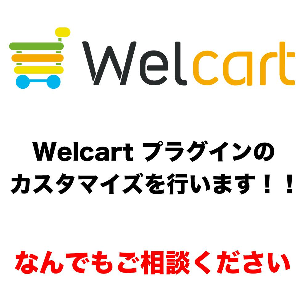welcart プラグインをカスタマイズします ご要望に応じた修正を安価で迅速に対応!ご好評をいただいてます イメージ1