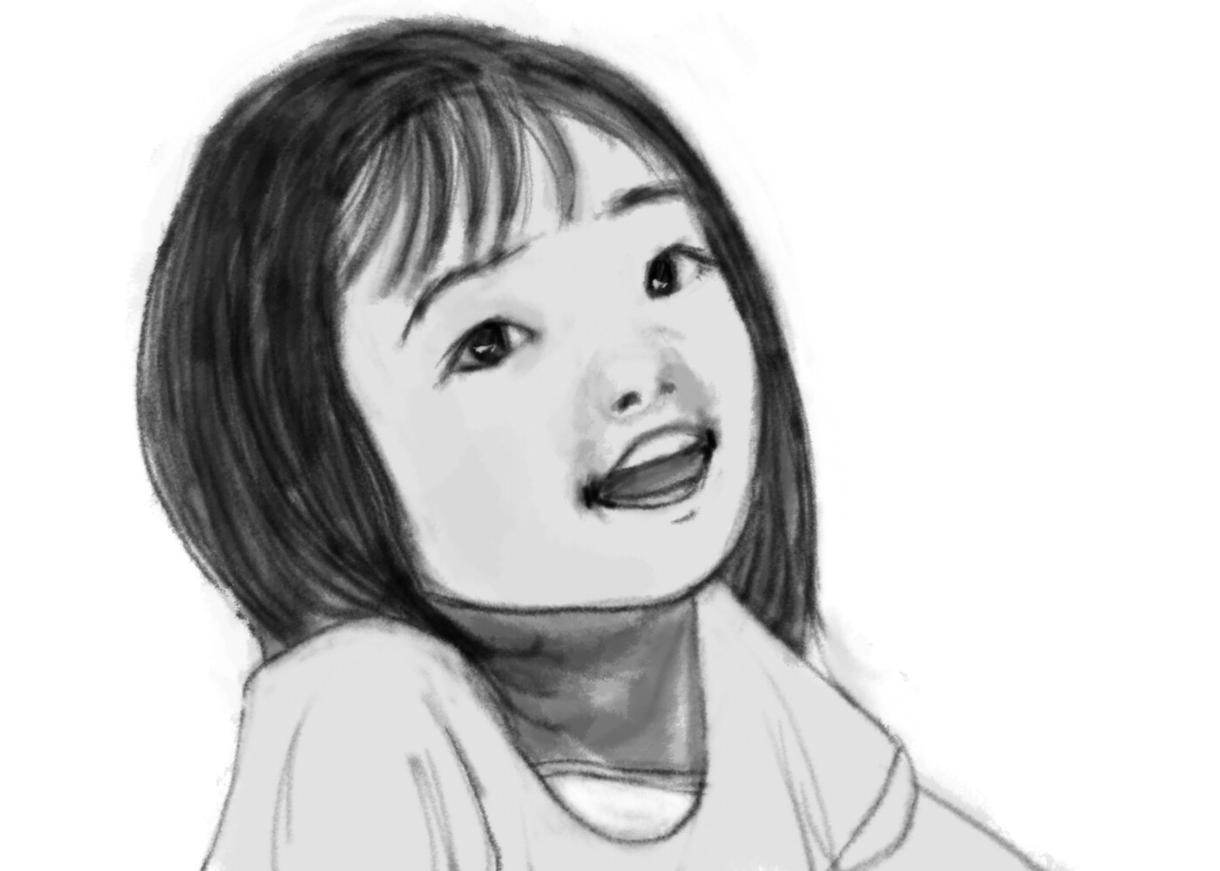あなたの写真をもとに、モノクロの似顔絵描きます(カラーも有り)