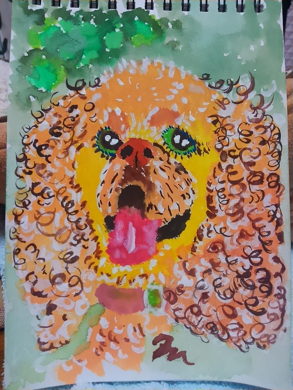 貴方の大切な家族(愛犬の似顔絵を描きます~~♪