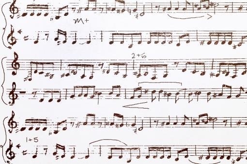 鼻歌の譜面起こし&既存楽譜への音階書き込み致します オリジナル曲を作りたい!けど楽譜がかけない!そんなとき!