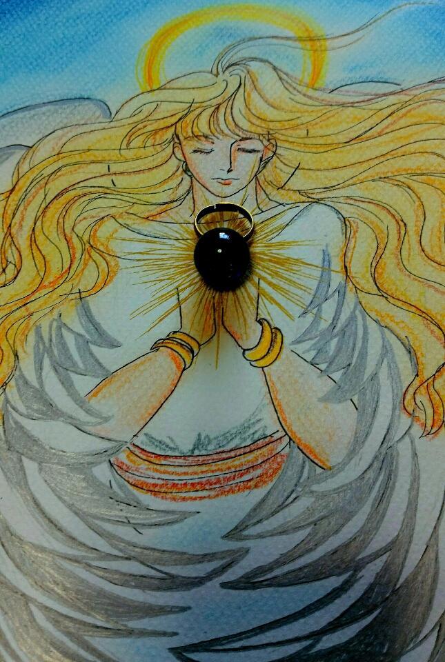 癒しの世界、神秘的な世界をイラストで表現します 形式にとらわれず自由な表現で聖なる存在をイラストにします。