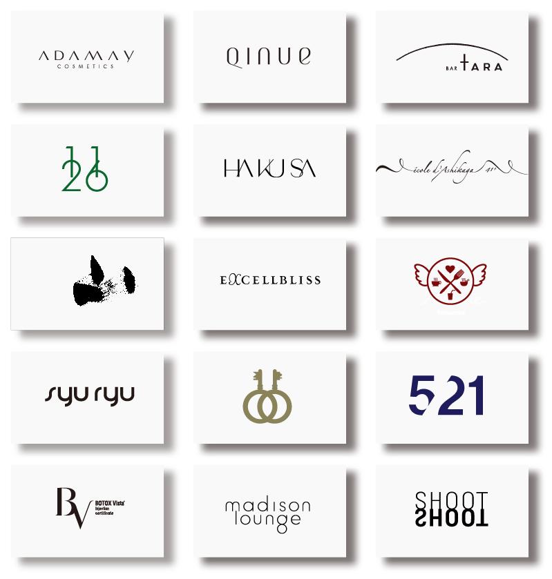 強く美しい「英文ロゴ」を制作いたします 個人事業様限定。低価格・高品質なロゴをご提供いたします。