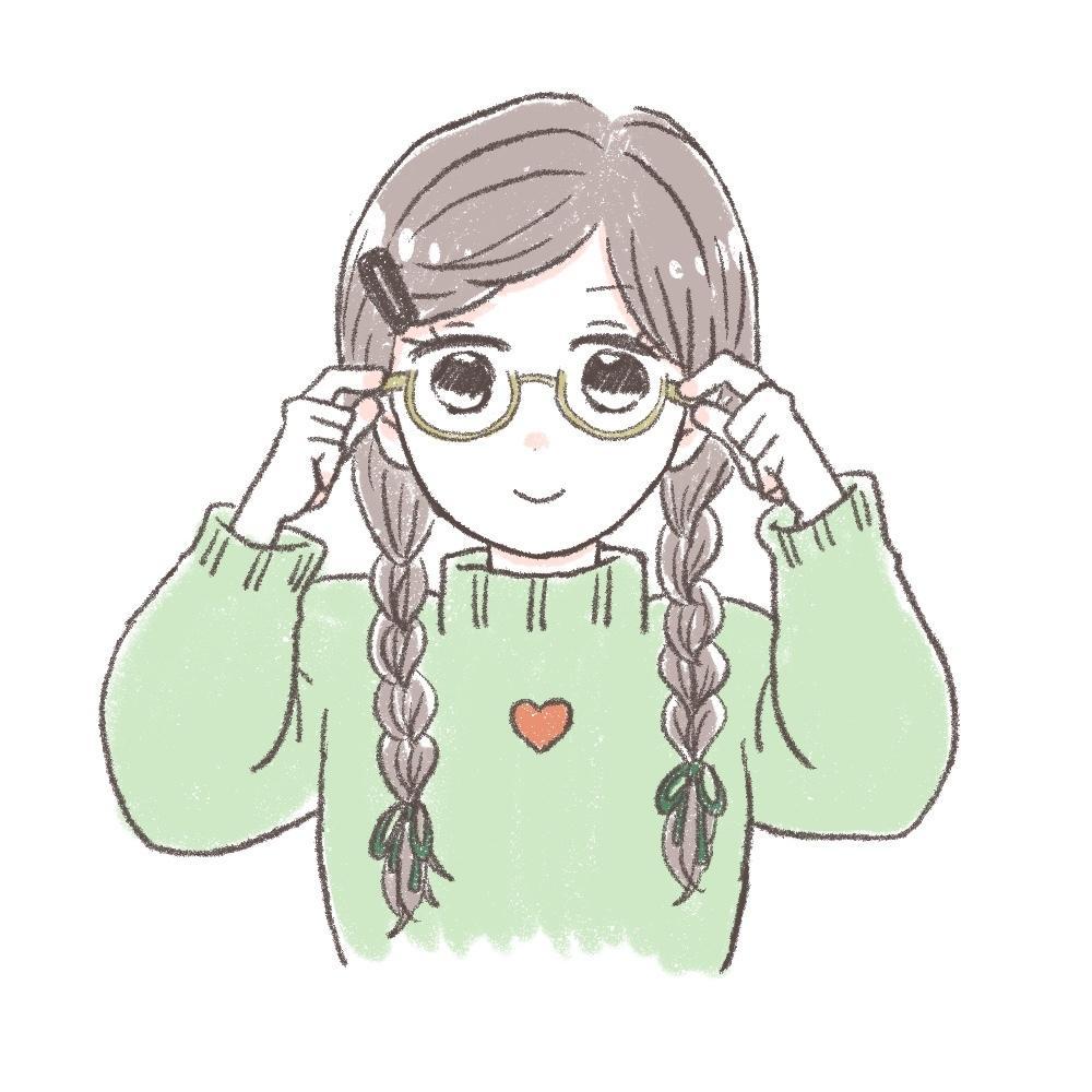 ゆるっと可愛い女の子♡どちらかの絵柄で描きます SNSのアイコンからブログ、WEBサイトにも♪商用利用OK♪