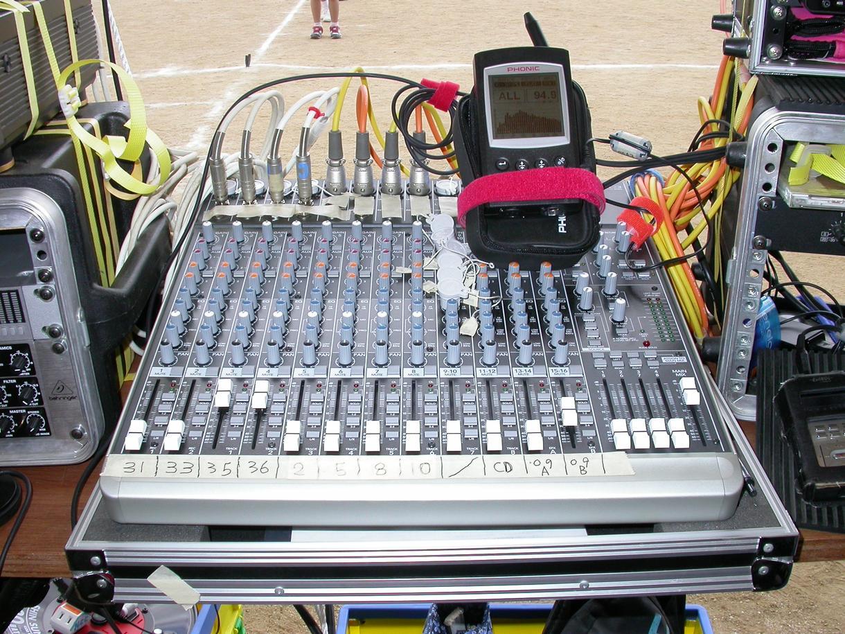 業務用音響機器のトラブル相談承ります。 イメージ1