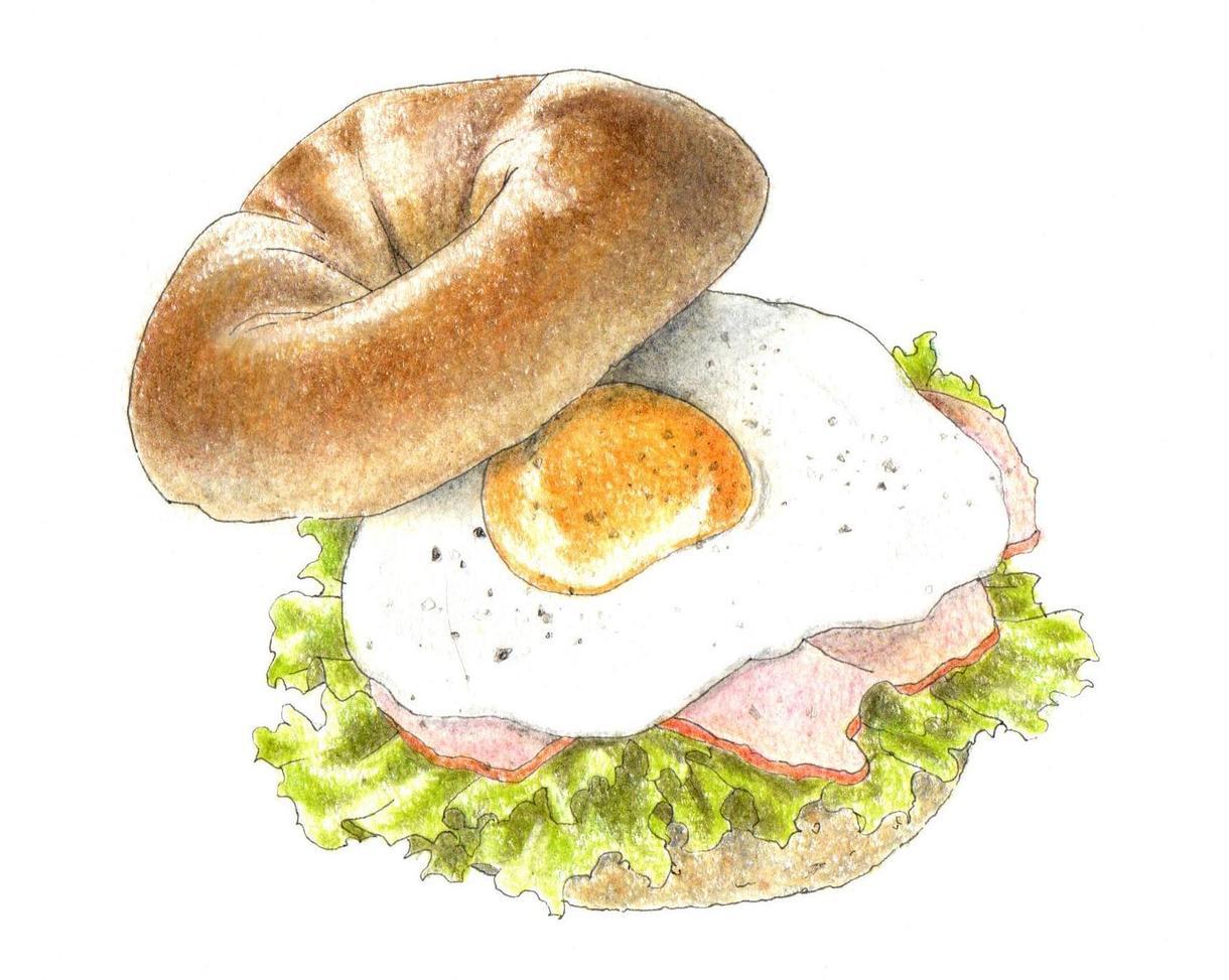 料理、飲み物のイラストを手描きします 【飲食店向け】温かみと親しみやすさのあるフードイラスト イメージ1
