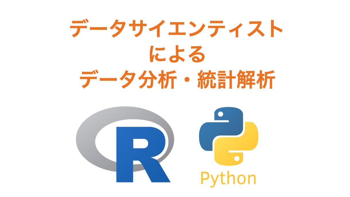 現役データサイエンティストが統計解析をします 専門用語の多用はしません。日本語でわかりやすくご説明します。 イメージ1