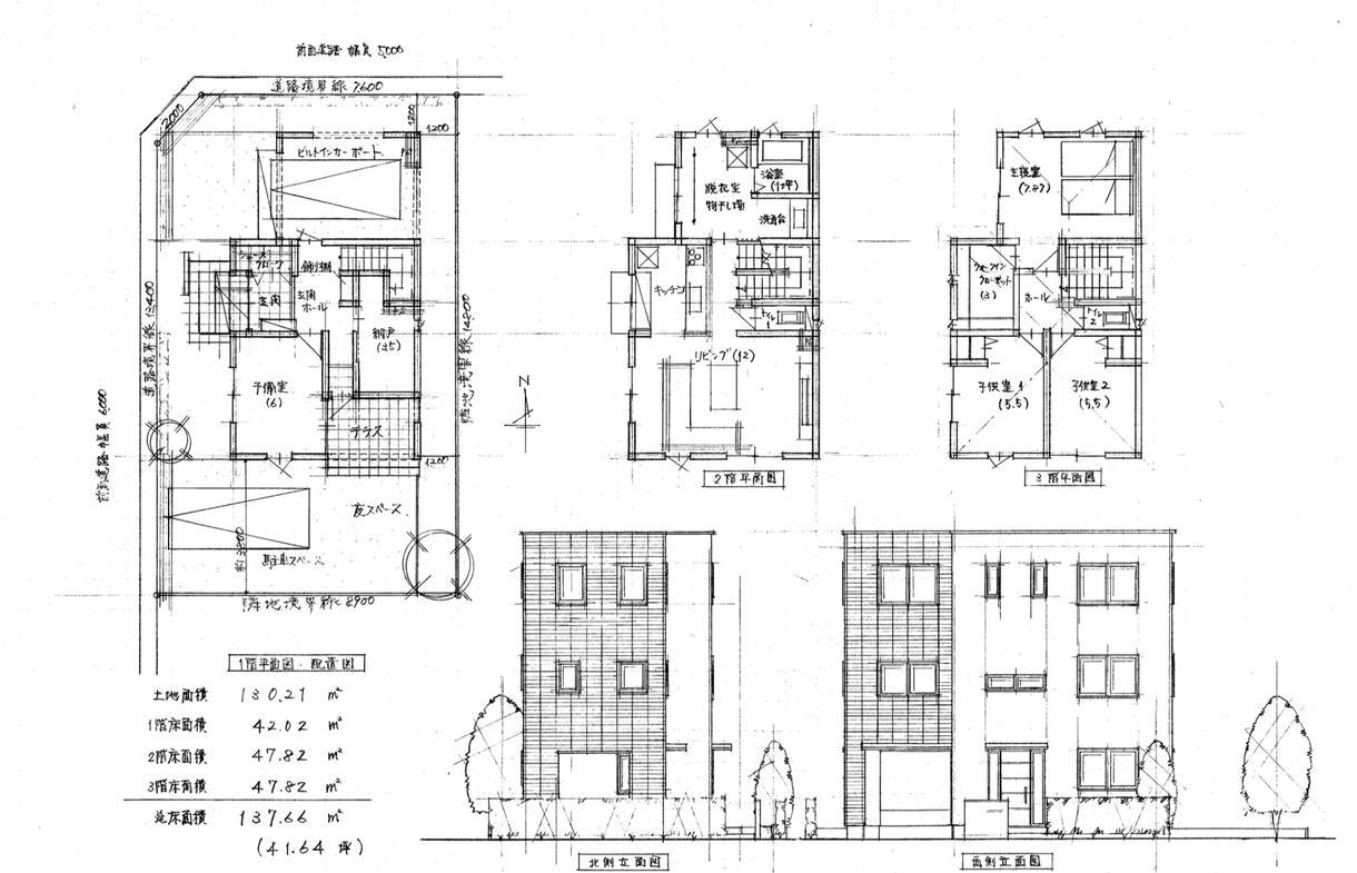 住宅の間取り作成。あなたの夢を図面化します 設計事務所、ハウスメーカーに相談する前にぜひご利用下さい!